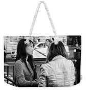 Thoughtful Weekender Tote Bag