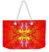 Thoughts Of Love And Light Transforming Weekender Tote Bag