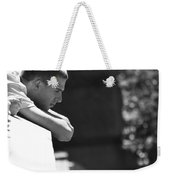 Thoughts Pushed Down  Weekender Tote Bag