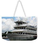 Thousand Islands Saint Lawrence Seaway Uncle Sam Boat Tours Weekender Tote Bag