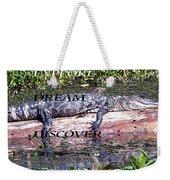 Thr Gator Weekender Tote Bag