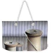 Thread And Needle Weekender Tote Bag