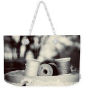 Threads Of Life  Weekender Tote Bag by Trish Mistric