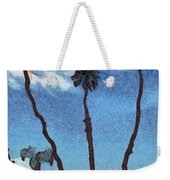 Three Abstract Palm Trees  Weekender Tote Bag