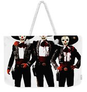 Three Amigos - Day Of The Dead Weekender Tote Bag