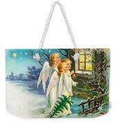 Three Angels In White Dresses Weekender Tote Bag