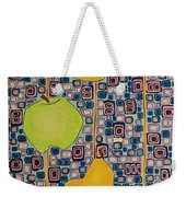 Three Apples Beat Two Pear Weekender Tote Bag
