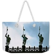 Three Armored Guards Weekender Tote Bag