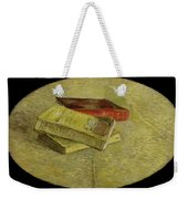 Three Books Weekender Tote Bag