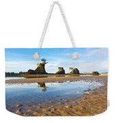 Three Brothers Rock Formation Near The Oregon Coast Weekender Tote Bag