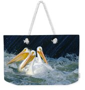 Three Buddies Hanging Out Weekender Tote Bag