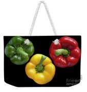 Three Colors Weekender Tote Bag