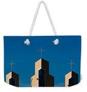Three Crosses Of Livingway Church  Weekender Tote Bag