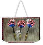 Three Darts Weekender Tote Bag