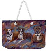 If Dogs Go To Heaven Weekender Tote Bag