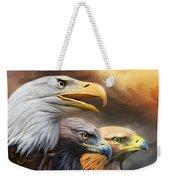 Three Eagles Weekender Tote Bag