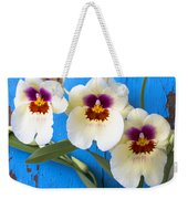 Three Exotic Orchids Weekender Tote Bag