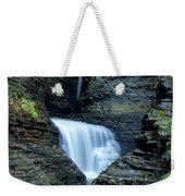 Three Falls In Watkins Glen Weekender Tote Bag