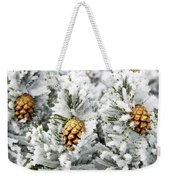 Three Frosty Cones Weekender Tote Bag