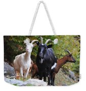 Three Goats Weekender Tote Bag