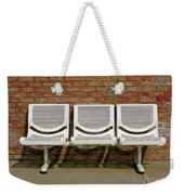 Three Is A Crowd Weekender Tote Bag