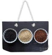 Three Kinds Of Rice Weekender Tote Bag