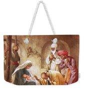 Three Kings Worship Christ Weekender Tote Bag by William Brassey Hole