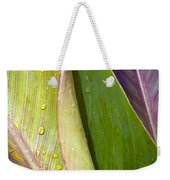 Three Leaves Weekender Tote Bag
