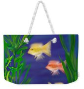 Three Little Fish Weekender Tote Bag