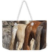 Three Long Tails Weekender Tote Bag