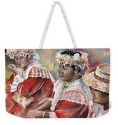 Three Mamas From Tahiti Weekender Tote Bag
