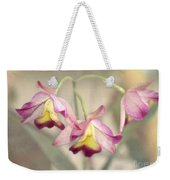 Three Orchid Beauties Weekender Tote Bag
