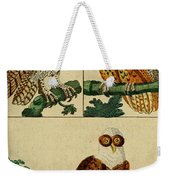 Three Owls Weekender Tote Bag
