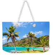 Three Palm Trees In Panama Weekender Tote Bag