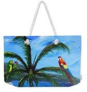 Three Parrots Weekender Tote Bag