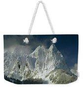 1m4503-three Peaks Of Mt. Index Weekender Tote Bag