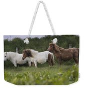 Three Ponies Weekender Tote Bag