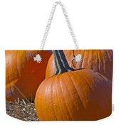 Three Pumpkins Weekender Tote Bag