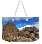 Three Rivers Petroglyphs 2 Weekender Tote Bag