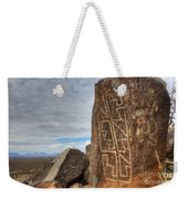 Three Rivers Petroglyphs 4 Weekender Tote Bag