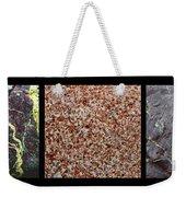 Three Rock Patterns Weekender Tote Bag