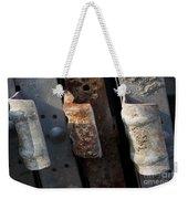 Three Shades Of Rust Weekender Tote Bag