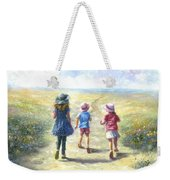 Three Sisters Beach Path Weekender Tote Bag