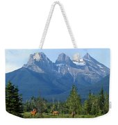 1m3203-three Sisters Faith Hope Charity Weekender Tote Bag