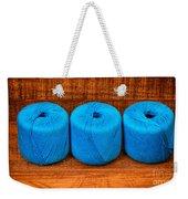 Three Skeins Of Knitting Yarn Weekender Tote Bag