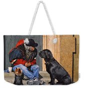Three Strays Weekender Tote Bag