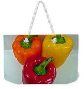 Three Sweet Peppers Weekender Tote Bag
