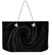 Three Swirls On Black Weekender Tote Bag
