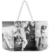 Three Times A Lady Weekender Tote Bag