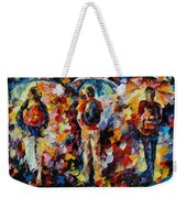 Three Umbrellas Weekender Tote Bag